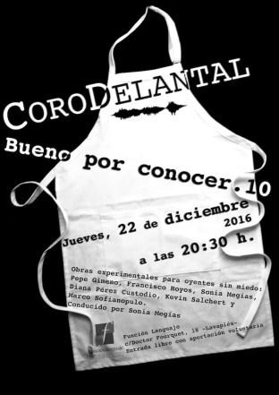 2016'XII'22. Madrid. Bueno por conocer.10 - cartel. Diseño: Isis Gayo