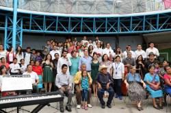 2017'II'21. San Salvador. Concierto en el Mercado Cuscatlán - foto de familia