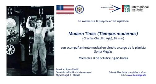 Modern Times - invitation