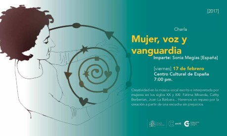 2017'II'17. Charla mujer - cartel