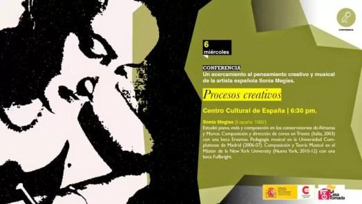 2015'V'6. Charla sobre mis procesos creativos - cartel