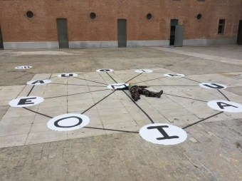 Contrapunto Fonémico II - instalación 1