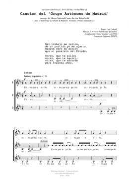 Canción del GAM (3v)