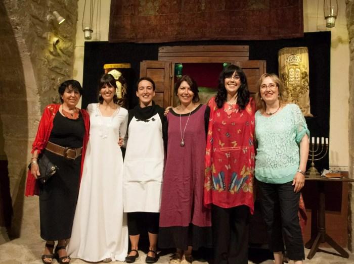 Con Quini, Laura, Pata de Oca y Cristina María