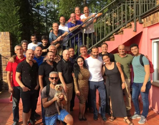 Tras la grabación: Con Fangoria y el Coro de voces graves de Madrid