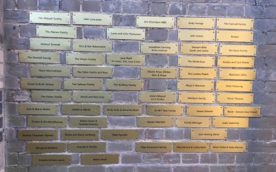A mother brick in the wall