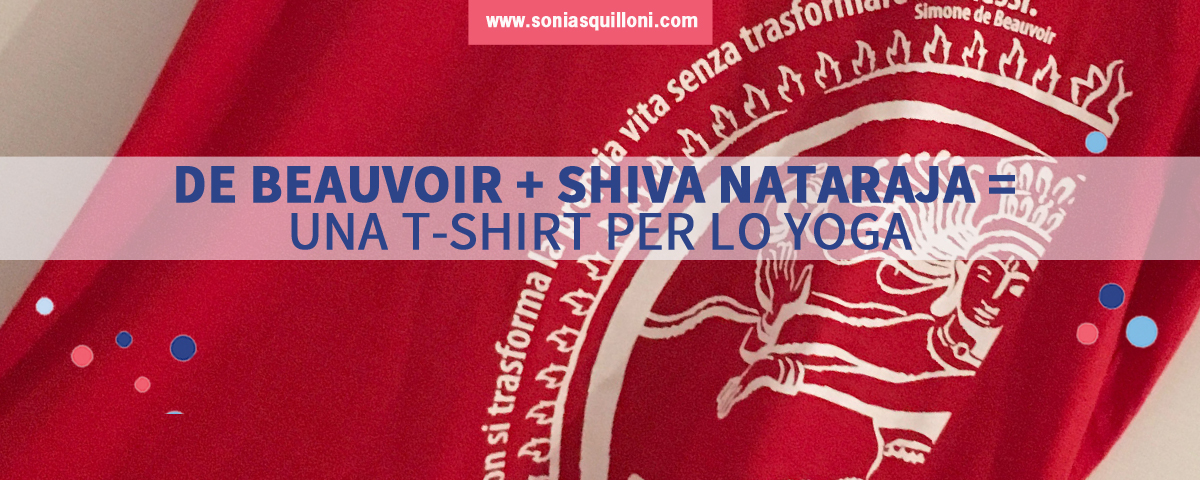 Una t-shirt per lo yoga ti cambierà la vita ;-)