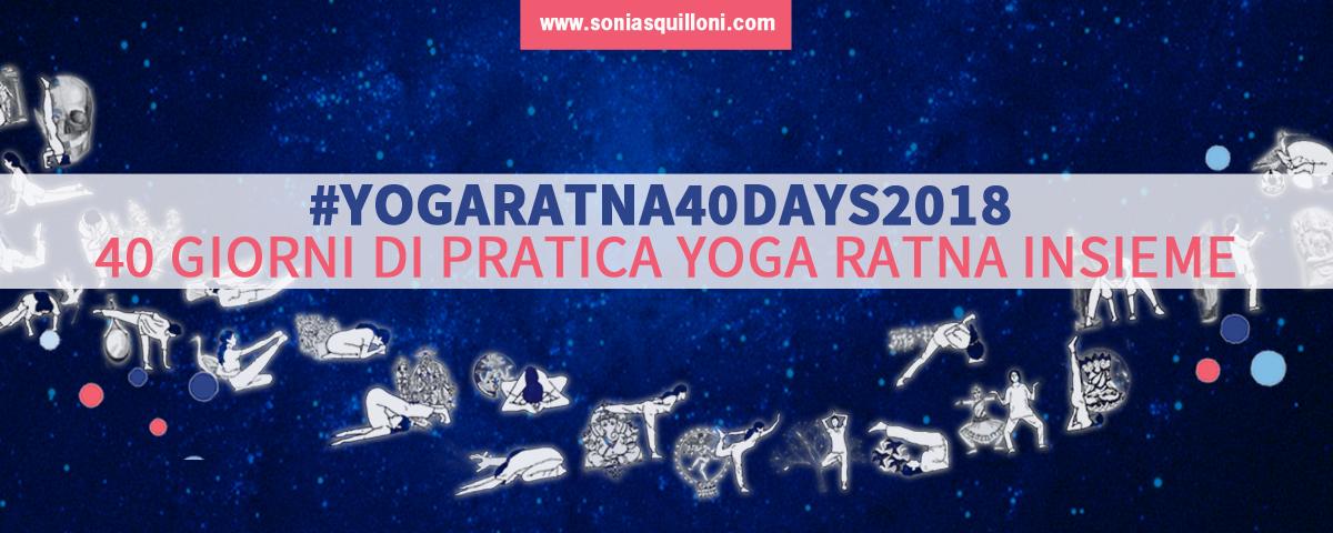 Yogaratna40days2018: lo yoga insieme d'estate!