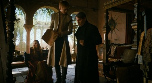juego de tronos 3x02 07 Joffrey Cersei