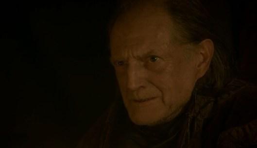 La cara de Walder Frey mientras contempla la masacre es de orgasmo largo y continuado...