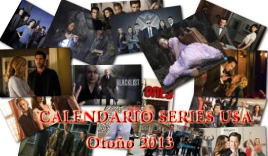 calendario series otoño 2013