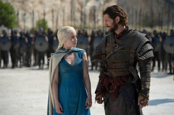 Daenerys Targaryen (Emilia Clarke) - Daario Naharis (Michiel Huisman)