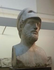 Busto de Pericles en el British Museum