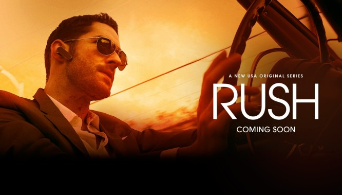 rush usa network poster