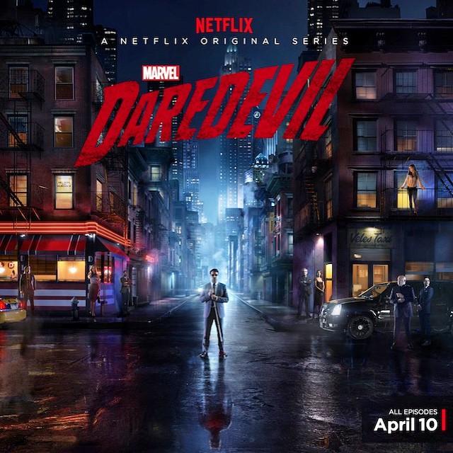 Daredevil poster netflix