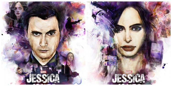 jessica jones - poster collage