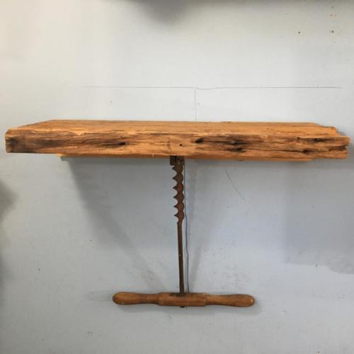 Auger shelf