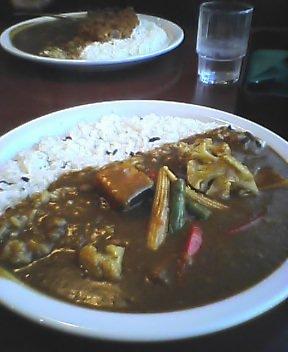 五種温野菜のカレー
