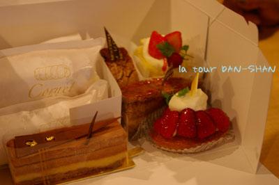 スリジェのケーキ