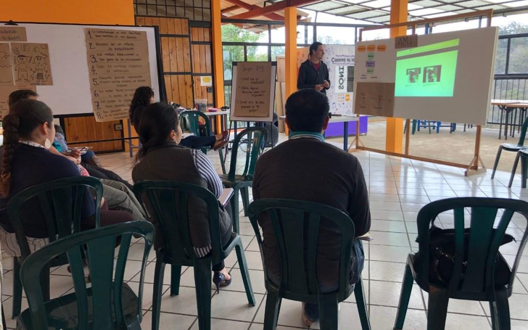 Primer taller de Alfabetización Mediática e Informacional a docentes