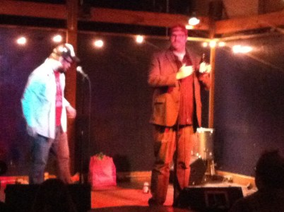 """Fulf n' Looch (Larry Fulford and Alex Luchun) pay us a visit with their """"Life's a Gift"""" travelling revue."""