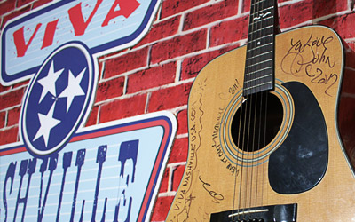 Logo / Graphics / Photos. This is a picture on set of Viva Nashville in Music City USA from SonicGrifMedia