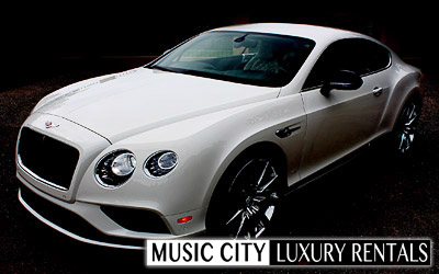 This is a picture of a luxury car in Nashville Tennessee from SonicGrifMedia