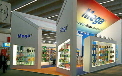 Graphics design and marketing for international trade show commerce