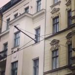 Tramlines on Alte Schonhauser Strasse, Mitte, Berlin