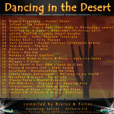 Dancing in the Desert Tracklist