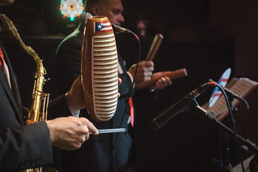 Guiro-puertorican-flag-clave-palitos-Empire-City-Yonkers-Raceway-Casino