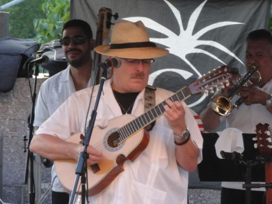 JuanMa-playing-cuatro-Brooklyn-Public-Library-outdoors-concert-series