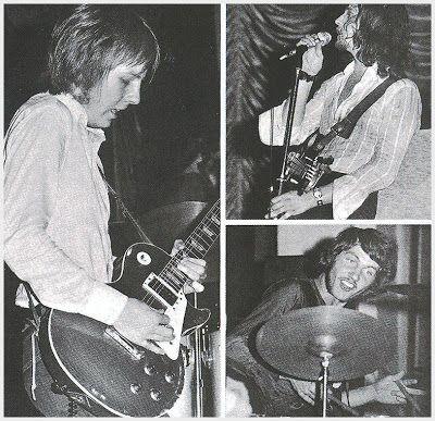 Clem Clempson: guitarra, Terry Poole bajo y Keith Baker batería.