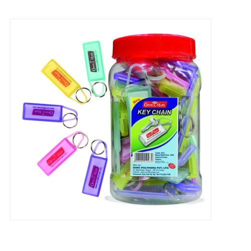 Soni Office Mate - Keychain Jar in Pack of 50 Pcs
