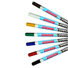 Soni Office Mate - Slim Acrylic Marker Pack of 10 pcs