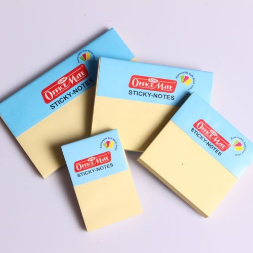 Soni Office Mate - Sticky Note Pads Pastel (50 x 76) 1