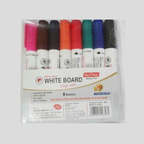 Soni Office Mate - Whiteboard Marker 8 pc PP Box