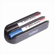 Soni Office Mate - Magnetic Dusters with 2 Whiteboard Markers in Pack of 10 Pcs