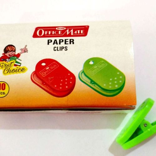 Soni Office Mate - Small Paper Clips in Pack of 10 pcs 1