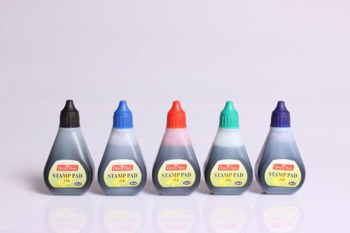 Soni Office Mate - Stamp Pad Refill Ink 50 ml 1