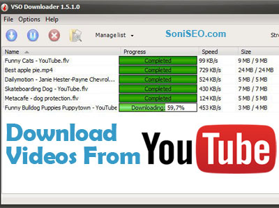 5 Free Youtube Downloaders - Best way to download Videos