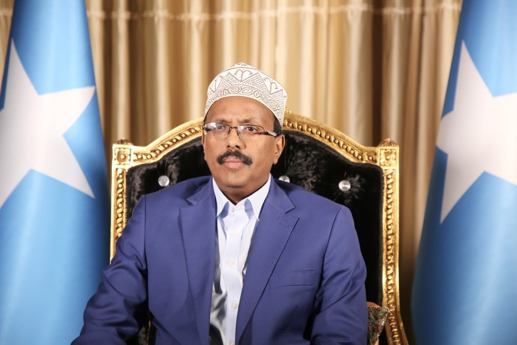 President Mohamed Abdullahi Farmajo's message on international youth day