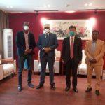 Information Minister meets Chinese Ambassador to Somalia