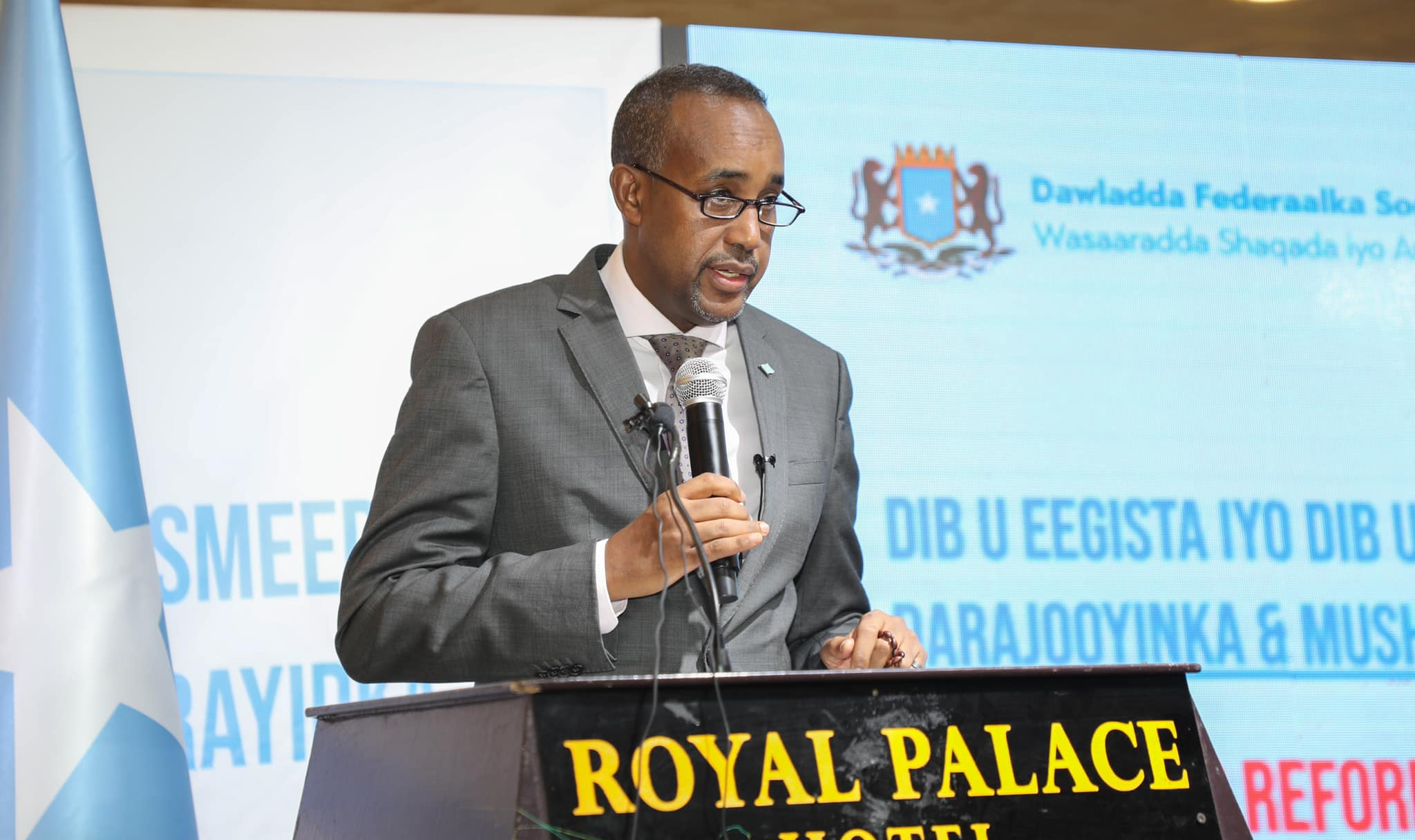 Somali PM launches a program to reform payment, grade structures of civil servants