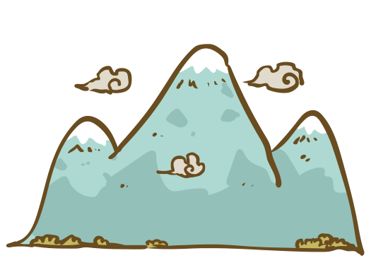 Learning Japanese Kanji With Pictures – Mountain