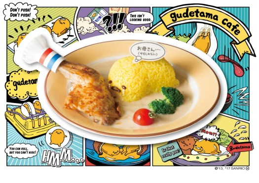 Gudetama Crying over Mother Dish Roast Chicken