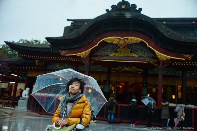 雨の太宰府