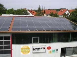 First Solar in Riechheim bei Erfurt