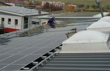 First Solar in Geisa/ Rhön