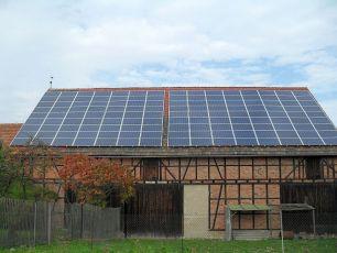 Sunpower in Wüllersleben/ Ilmkreis